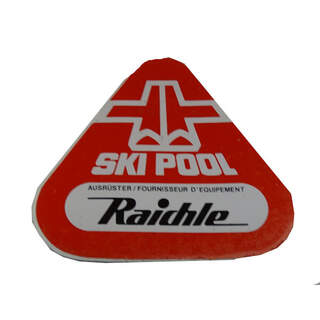 Sticker Raichle Ski Pool
